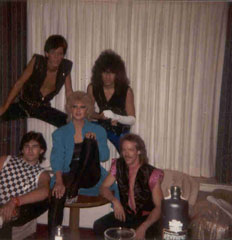 My first road band,1983 in Rapid city,S.D. Affair band