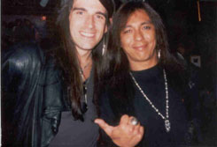 Randy Castillo (Ozzy,Crue) at Bangles in Denver (92)