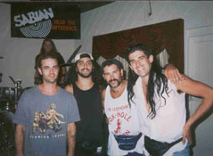Mike Portnoy,myself,and two friends,Omaha,Ne.1995